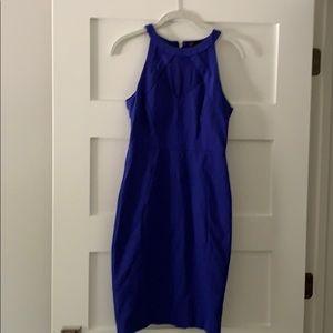 Ted baker cobalt blue sheath dress
